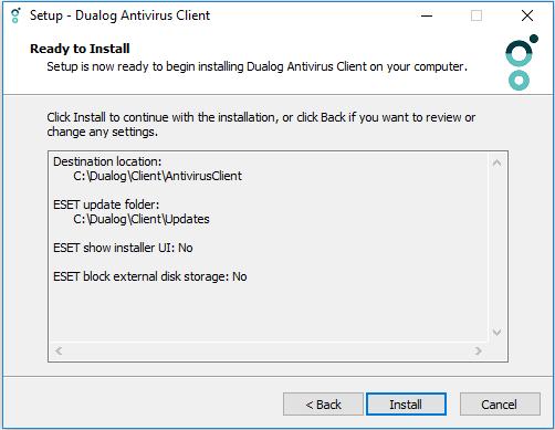 How to install the Dualog Antivirus (Server side) – Dualog